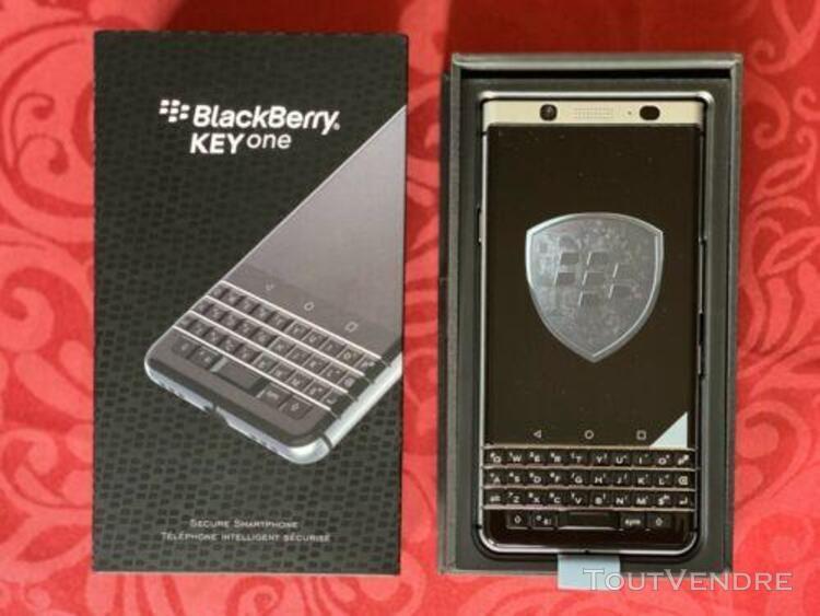 "Blackberry keyone noir argent 32go + 3go ram écran 4.5"" fhd"