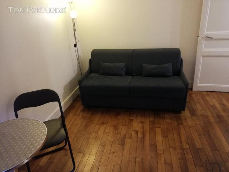 Levallois - studio meuble 15.63 m2