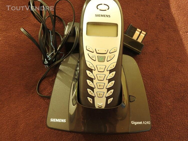 Telephone fixe sans fil siemens