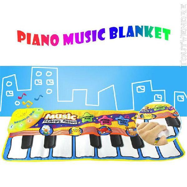 Bébé early education musique piano tapis jouer clavier