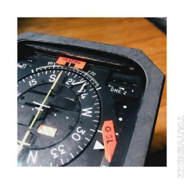 Instrument avion conservateur de cap