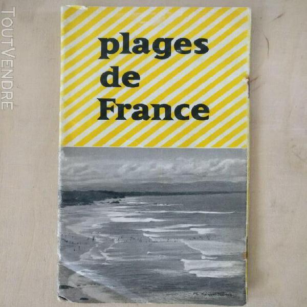 Plages de france - édition 54 (carte map plan guide