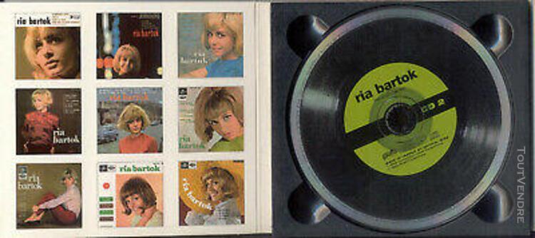 Ria bartok. french ep collection. 2 x cds. 40 titres. intég