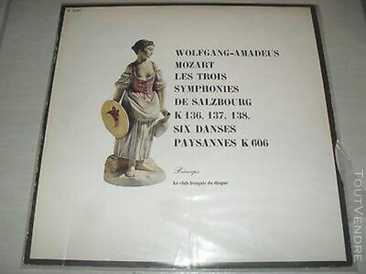 Ristenpart mozart. symphonies. de salzbourg,6 danses paysan