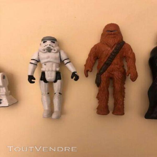 Star wars 1990 euro disney toy figures rare lot