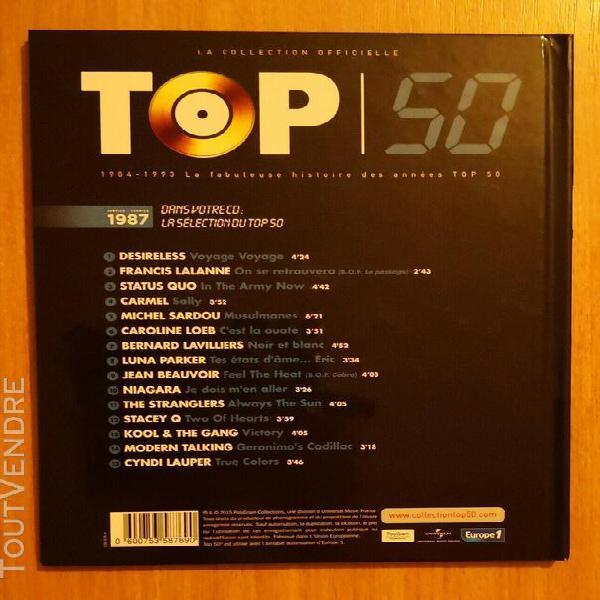 Top 50 livre / cd collector desireless niagara carmel luna p