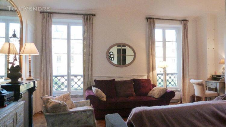 Gobelins: appartement 2 pièces meublé, 45m2