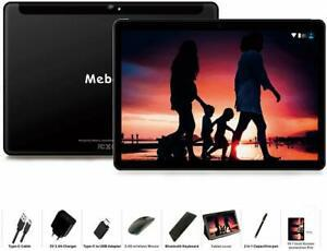 Tablette tactile 10 pouces - meberry android 9 pie tablette