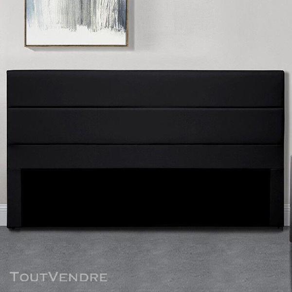 Tête de lit design ava - noir tête de lit - 160 cm