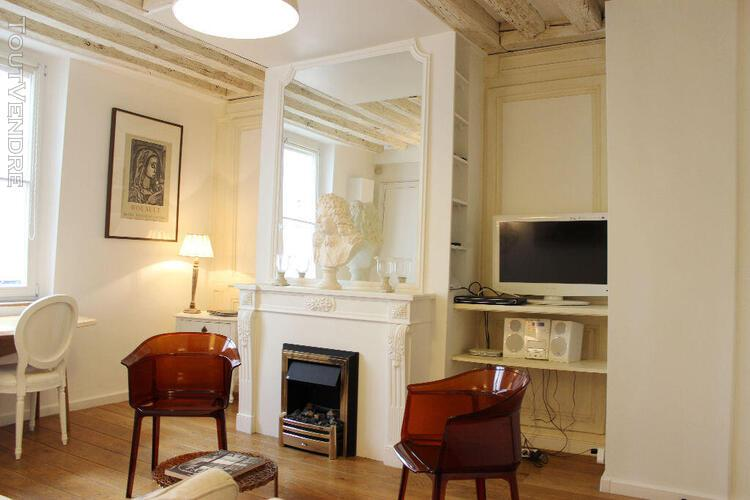 Appartement meublé de 32m2 en excellent état sur l'île