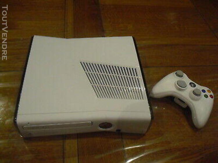 console xbox 360 blanche