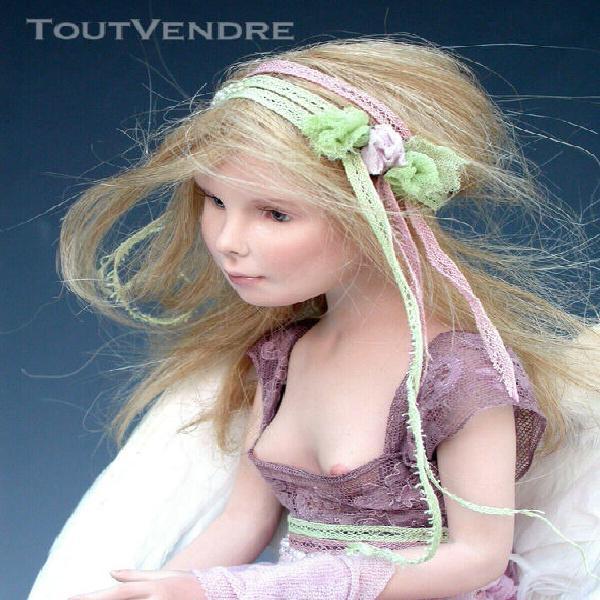 Doll artist, angel doll, porcelain doll, ooak doll artist, m