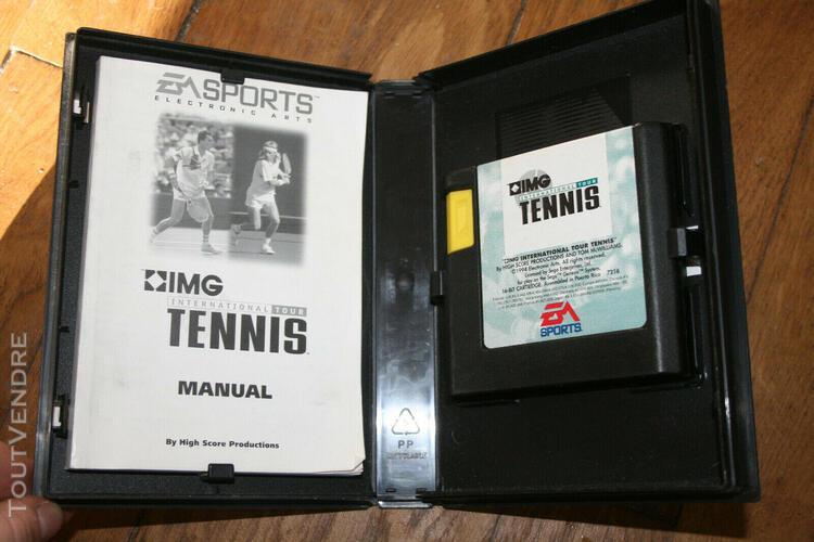 Jeux mega drive international tour tennis, notice incluse