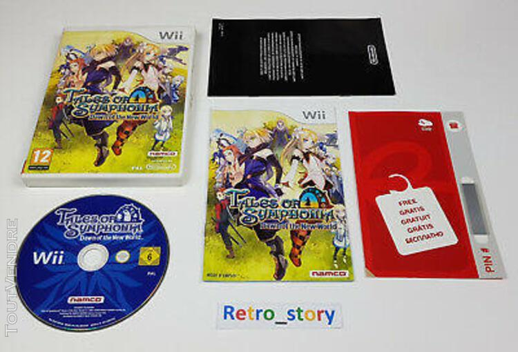 Nintendo wii - tales of symphonia: dawn of the new world -