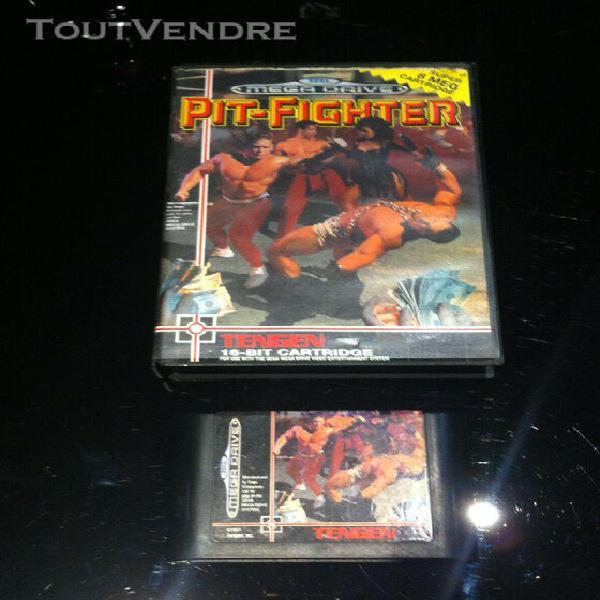no neo geo-megadrive jeux pit-fighter-no nes-no nec-no dream