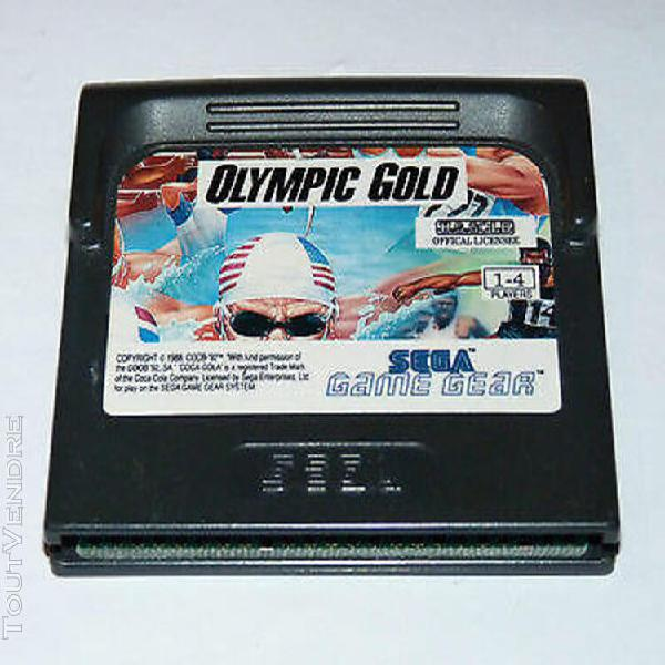Olympic gold - jeu sega gamegear / gg