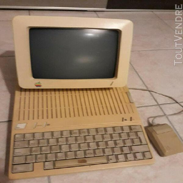 Apple ii c + souris + imprimante + logiciels + disquettes +
