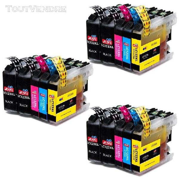 Brother lc123 lc 123 encre compatible avec brother j6720dw j
