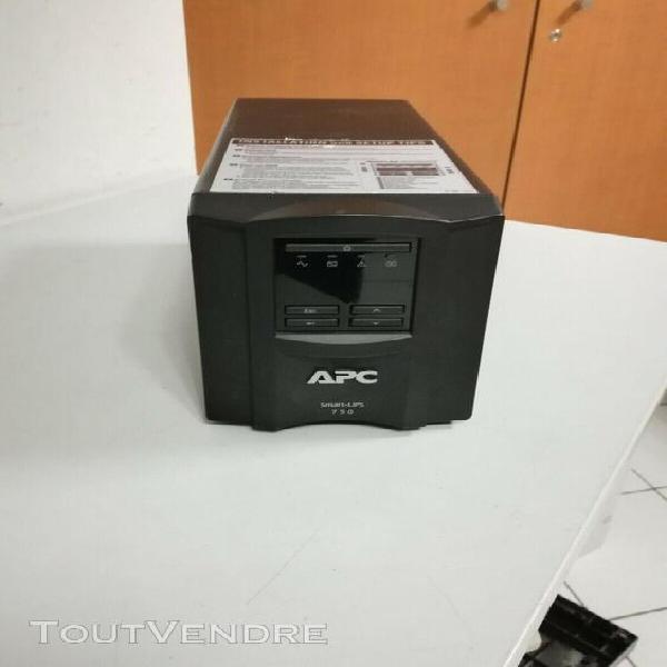 Onduleur parafoudre apc smart-ups 750 smt750i - batteries ne