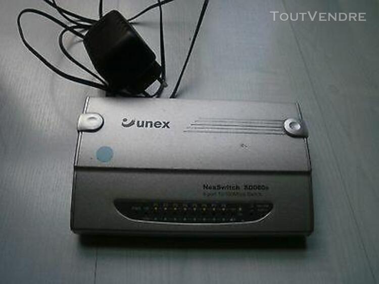 Switch réseau rj45 ethernet unex nexswitch sd080s - 8 ports