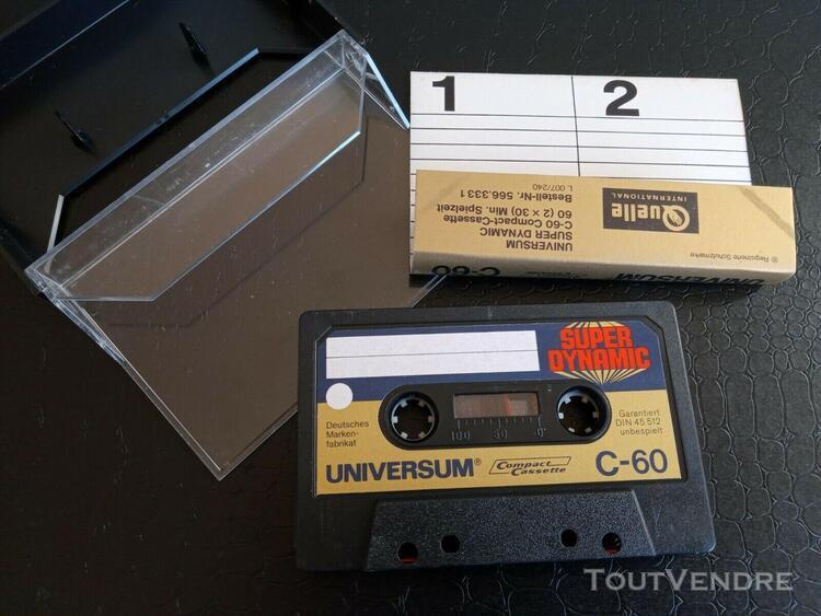 Universal super dynamique - 60 minutes - blank cassette audi