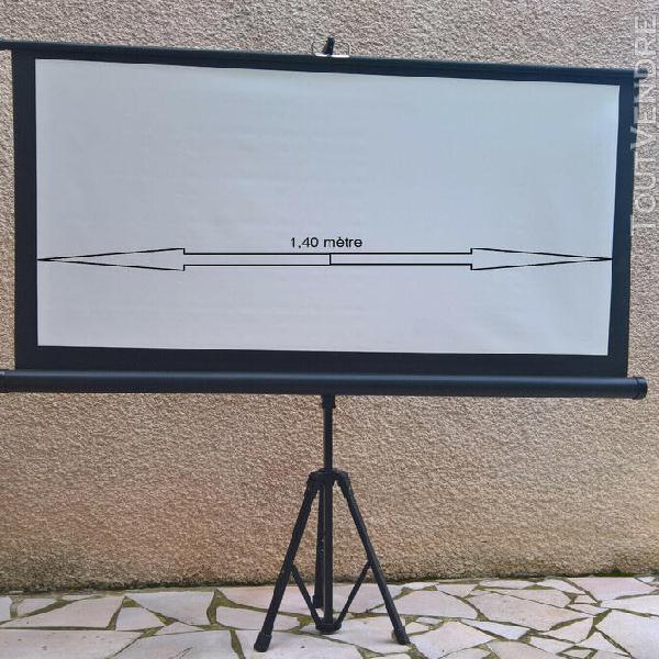 Ampli audio video denon complet + ecran blanc portable/pliab
