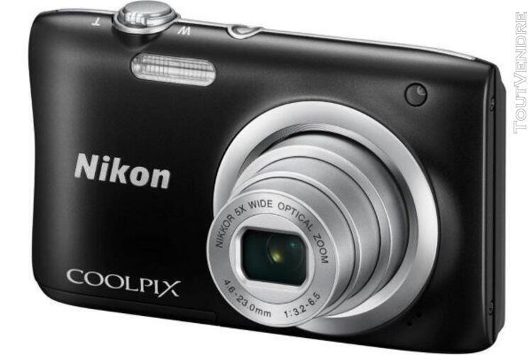 Appareil photo numérique nikon coolpix a100 noir