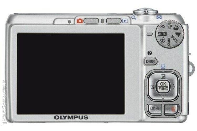 Appareil photo olympus fe-340: 8.0 megapixel + chargeur + c
