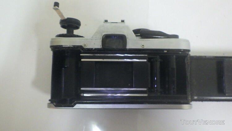 Boitier appareil photo reflex argentique olympus om 10