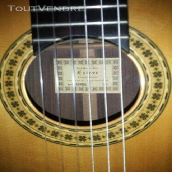 Guitare classique gaucher estève 1gr08