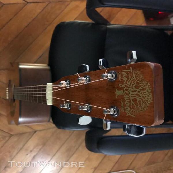 Guitare folk tanglewood tw - 400 annees 80 tbe fabriquée en