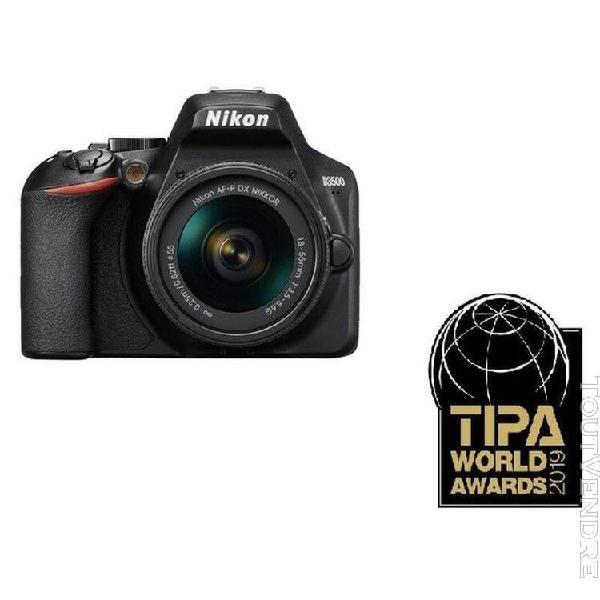 Nikon appareil photo reflex d3500 + housse + objectif 18-55m