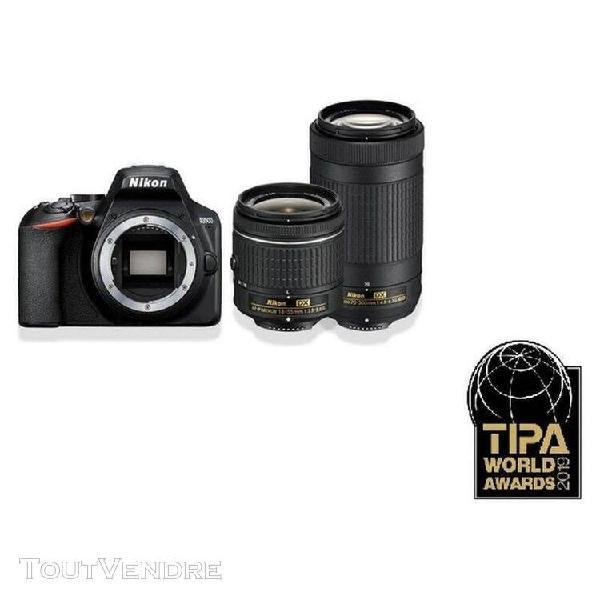 Nikon appareil photo reflex d3500 + objectif 18-55mm + 70-30