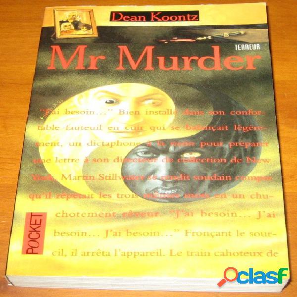 Mr murder, dean koontz