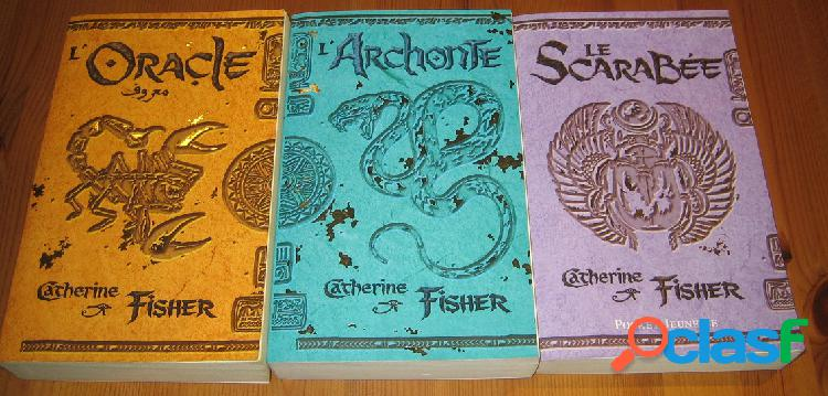 L'oracle (3 tomes), catherine fisher