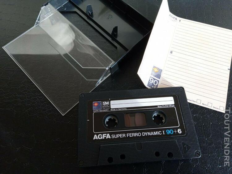 Agfa super ferro dynamic 1 - 90 minutes - blank cassette au