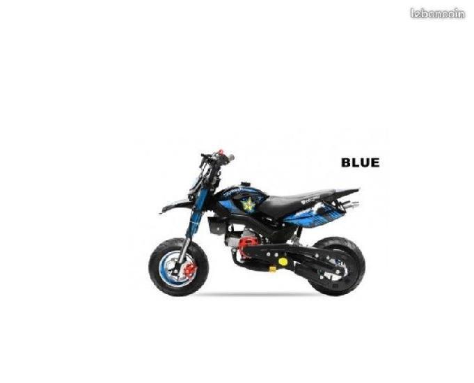 dirt bike 49 cc hobbit supermotard pour enfant