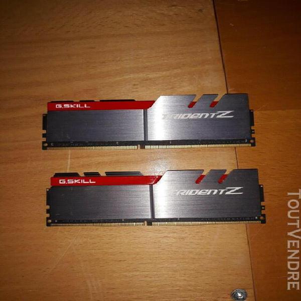 G.skill trident z 16 go (2x 8 go) ddr4 3600 mhz cl15