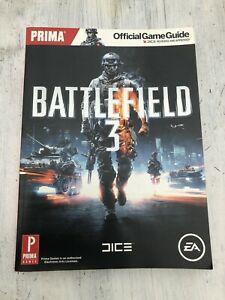 guide officiel strategie battlefield 3 guide en anglais ea