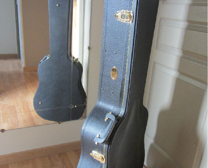 guitare guild d125 cherry red +étui rigide guild