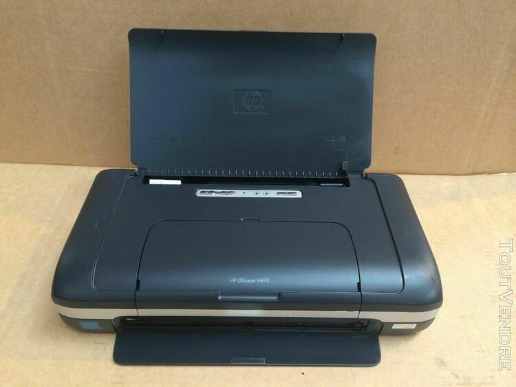Imprimante officejet h470b fonctionnelle