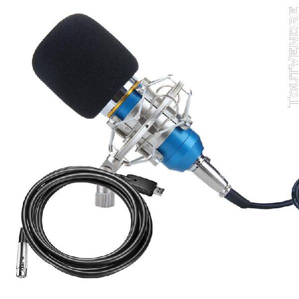 Microphone condensateur micro studio enregistrement audio