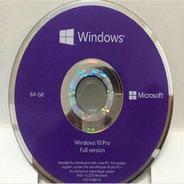 Microsoft windows 10 professionnel original
