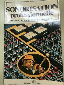 sonorisation professionnelle par r besson 1ère edition
