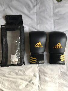 Gants de boxe adidas climacool 12 oz black yellow