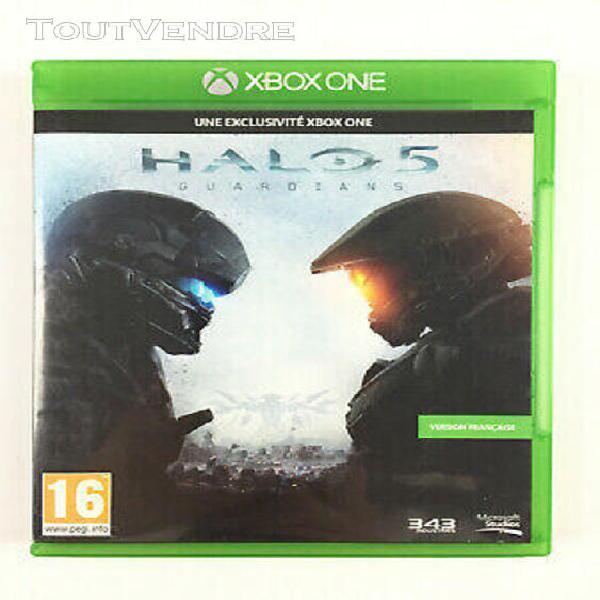 Halo 5 guardians xbox one jeu