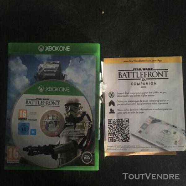 Jeux vidéo star wars battlefront xbox one version français
