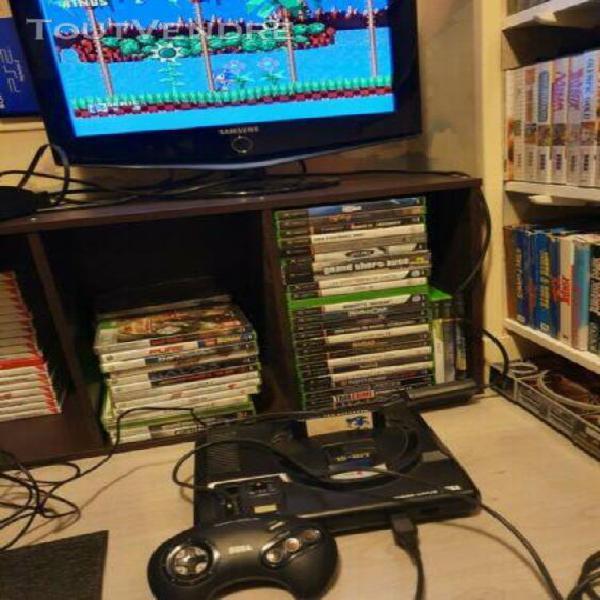 Sega mega drive console de jeux - noire