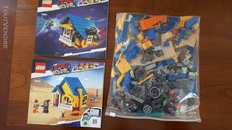 The lego movie 2 la maison-fusee d'emmet 70831