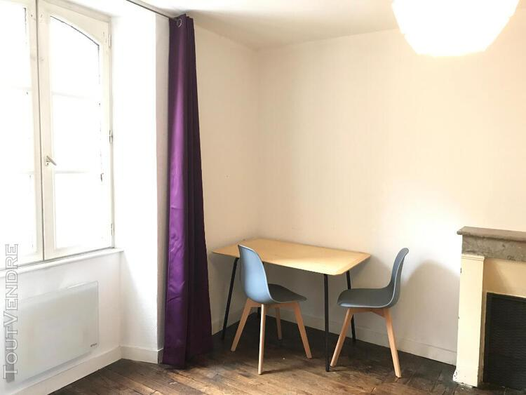 Location studio meublé - thabor - location immobilier